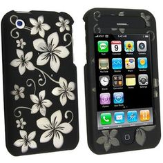 Shop for Black Hawaii Crystal Case for Apple iPhone Get free delivery On EVERYTHING* Overstock - Your Online Cell Phones & Accessories Shop! Best Cell Phone, Cell Phone Cases, Hawaiian Print, Protective Cases, Apple Watch, Cell Phone Accessories, Apple Iphone, Electronics, Crystals