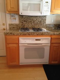 1000 images about kitchen cabinet and counter tops for for White kitchen cabinets turning yellow