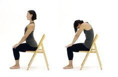 Chair yoga adapts traditional yoga poses so that they can be done with a chair for support, making yoga more accessible for people who cannot stand for long periods.