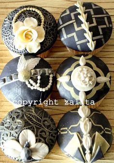 1920s cupcakes - Google Search