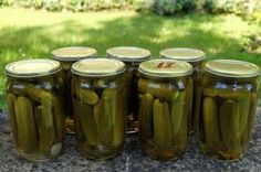 Recept na nakládané okurky Korn, Pickles, Cucumber, Pickle, Pickling, Cauliflower, Zucchini
