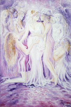 Atat de dulce, pictura inspirata din poezia lui Mihai Eminescu