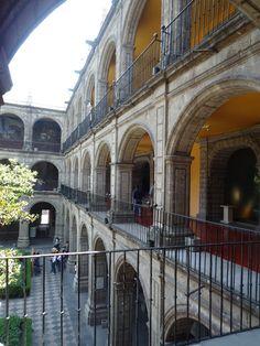 San Ildefonso, centro histórico, Cuidad de México
