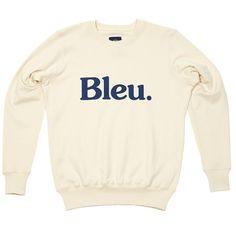 Bleu de Paname Logo Sweat (White)