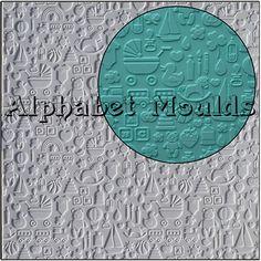 Nursery Impression Mat by Alphabet Moulds UK
