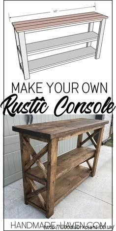 Rustic Woodworking Plans Rustic Furniture Plans Furniture Projects Furniture Diy