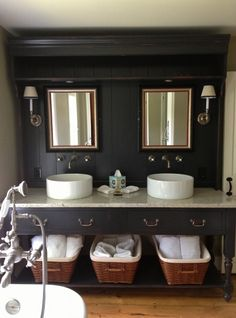 Renovation of 1840's Litchfield County Farmhouse Bathroom designed by Interior Remedies