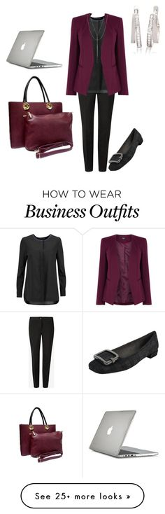 """""""Work Wear"""" by cassieoneal on Polyvore featuring Stuart Weitzman, Ted Baker, Tory Burch, Oasis, Belk & Co., Lana Jewelry, Speck, WorkWear, simple and black"""