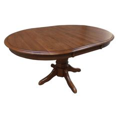 Chelsea Home Lacewood Pedestal Dining Table Burnished Walnut - 826457-T-BW, CHEL2802-1