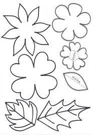 Resultado de imagen para flores y hojas Hand Embroidery Patterns, Applique Patterns, Flower Patterns, Flower Designs, Giant Paper Flowers, Felt Flowers, Diy Flowers, Felt Crafts, Paper Crafts