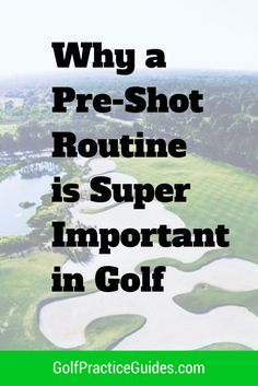 Why a Pre-Shot Routine Matters There are 3 phases to a golf shot that you face every shot you attempt during your round. You have the before, the during, and the after and each is very important to your overall success of the golf shot and its outcome. Today