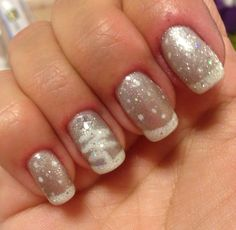healthy meals for dinner easy meals ideas free Holiday Nails, Christmas Nails, White Christmas, Christmas Tree, Winter Nail Designs, Nail Art Designs, Gelish Nails, Manicure, Winter Nails