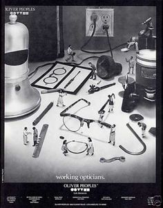 Oliver Peoples - Working Opticians