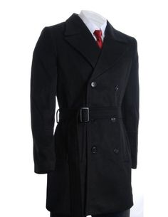 FLATSEVEN Mens Winter Double Breasted Pea Coat Long Jacket (CT122) Black, 4XL FLATSEVEN http://www.amazon.com/dp/B00QP62M4U/ref=cm_sw_r_pi_dp_zmg1ub16BCBR4 #FLATSEVEN #Mens #Coat #Fashion #Winter