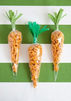 Save this snack DIY to make Easter carrot bags.