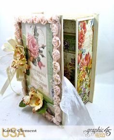 Secret Garden Tag Album in a Box Tutorial, Secret Garden, by Kathy Clement, Product by Graphic 45, Photo 31