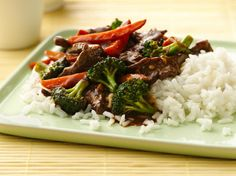 Stir fry Beef & Broccoli Make tasty Asian restaurant fare at home--and do it in less than 30 minutes! Stir-fry is weeknight easy. Easy Beef And Broccoli, Broccoli Stir Fry, Broccoli Recipes, Asian Recipes, Beef Recipes, Cooking Recipes, Healthy Recipes, Asian Foods, Chinese Recipes