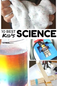 All our best science experiments shows you just how easy science can be at home. These cool science experiments are simple, fun, and easy for kids!