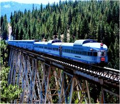 With the chirrens, in two summers from now. and then getting the Empire builder back to Chicago