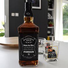 demande en parrain originale étiquette bouteille alcool 2
