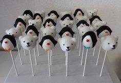 Penguins and Polar Bears (Cake Pops)