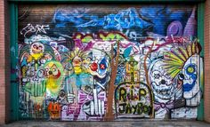 Venice Beach street art. #veniceboardwalk #venicebeach #streetart #streetphoto #colorful #veniceca #latimes #nikon #nikonphotography #nikontop #nikon_photography #insta_losangeles #insta_la #losangeles_city #exploringla #nikond5200photography #california #clowns by ricardoh_photography