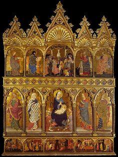 Michele di MatteoPolyptych of Sant'Elena  Datecirca 1427Mediumtempera on panelCurrent location  Accademia of Venice
