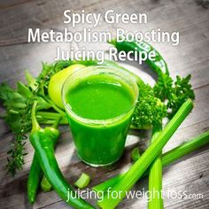 You have probably heard that hot #peppers can help boost your #metabolism and help support #fat #burning. #GreenJuice