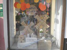 Windmill window decorations