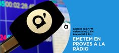 Comencen les emissions en proves de la nova ràdio pública valenciana 'À punt' | VilaWeb