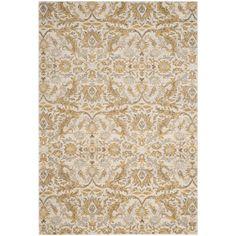 Safavieh Evoke Ivory/ Gold Rug (8' x 10')   Overstock.com Shopping - The Best Deals on 7x9 - 10x14 Rugs