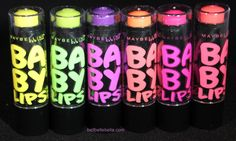 BellBelleBella: Maybelline Baby Lips Electro Lip Balm Review and Swatches