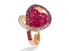de grisogono   ... De Grisogono . Oro rosa, diamanti bianchi, zaffiri, tormaline e