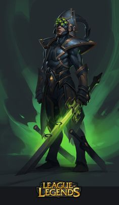 Master Yi - League of Legends fan art by jojo so