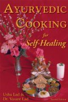 Ayurvedic Cooking for Self Healing, a book by Usha Lad, Vasant Lad Ayurvedic Diet, Ayurvedic Recipes, Ayurvedic Remedies, Homeopathic Medicine, Ayurvedic Medicine, Herbal Medicine, Healthy Recipes For Weight Loss, Diet Recipes, Easy Recipes