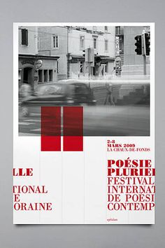 #Poster - Festival International de Poesie Contemporaine