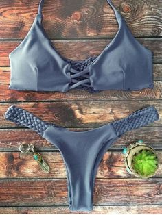 Bikini Push Up, Sexy Bikini, High Leg Bikini, Bikini Swimsuit, Bikini Set, Zaful Bikinis, Suit Fashion, Bikini Fashion, Fashion Site