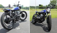 1973 Yamaha RD250 StreetTracker - Pipeburn - Purveyors of Classic Motorcycles, Cafe Racers & Custom motorbikes