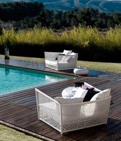 EXPORMIM Tunis armchairs by Expormim Studio