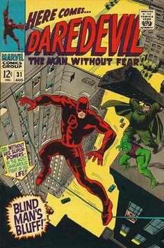 Daredevil # 31 by Gene Colan & Frank Giacoia