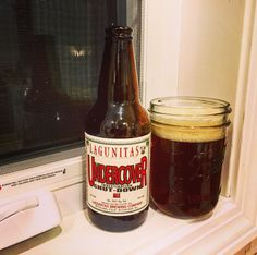 Lagunitas Brewing Company: Undercover Investigation Shut-down Ale - Despite its best efforts, not even this beer could shut down my sill. In its less mature days, Lagunitas would hold weed parties at 4:20pm every Thursday. On St. Patrick's Day, 2005, they were caught in the act and nearly lost it all. A year later, to celebrate, they released this Undercover Investigation Shut-down Ale.