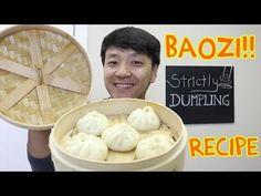 EASY DELICIOUS Chinese Pork Bun Recipe (Baozi 包子) - YouTube