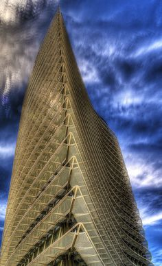 Water Tower  Zaragoza, Aragon, Spain Architecture Memes, Architecture Today, Amazing Architecture, Modern Architecture, Tower Building, Building Design, World Trade Center, Monuments, Never Been To Spain