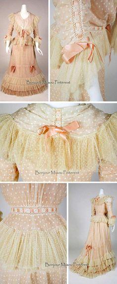 Dress, American,ca. 1898-1900. Silk.