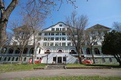 The Adler Hotel was a 150-room, five-story hotel in Sharon Springs, New York that was operated from 1929 until 2004. Known for its therapeutic sulfur baths, it catered primarily to people who traveled to Sharon Springs in the summers. Ed Koch worked as a busboy at the hotel in 1946.