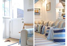 Sleeping 4 in 2 bedrooms Trecara is a fantastic cottage in Downalong. Ideally located to get the best out of a holiday in Cornwall Cornwall Cottages, West Cornwall, Holidays In Cornwall, St Ives, Seaside, Coastal, England, Boutique, Inspired