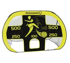 Buy Kickmaster Quick Up Goal and Target Shot at Argos.co.uk, visit Argos.co.uk to shop online for Football equipment, Football, Sports, Sports and leisure