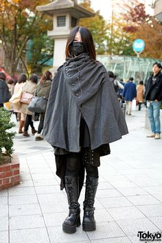 Gothic Harajuku Style w/ Mask & Cape, Sixh, h.NAOTO & Queen Bee
