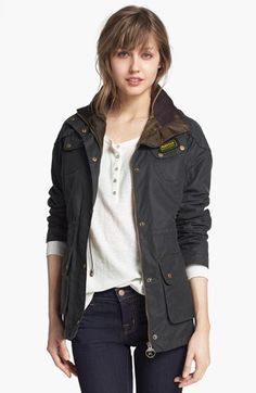 I've always wanted a Barbour 'Hawkstone' Parka…maybe I will convince Santa that it's ok to buy myself something nice!