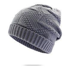 e403122fdaa Women Men Knitted Skullies Beanie Hat Ear Protection Windproof Cap Outdoor  Sport Fibres Hats is hot sale on Newchic.